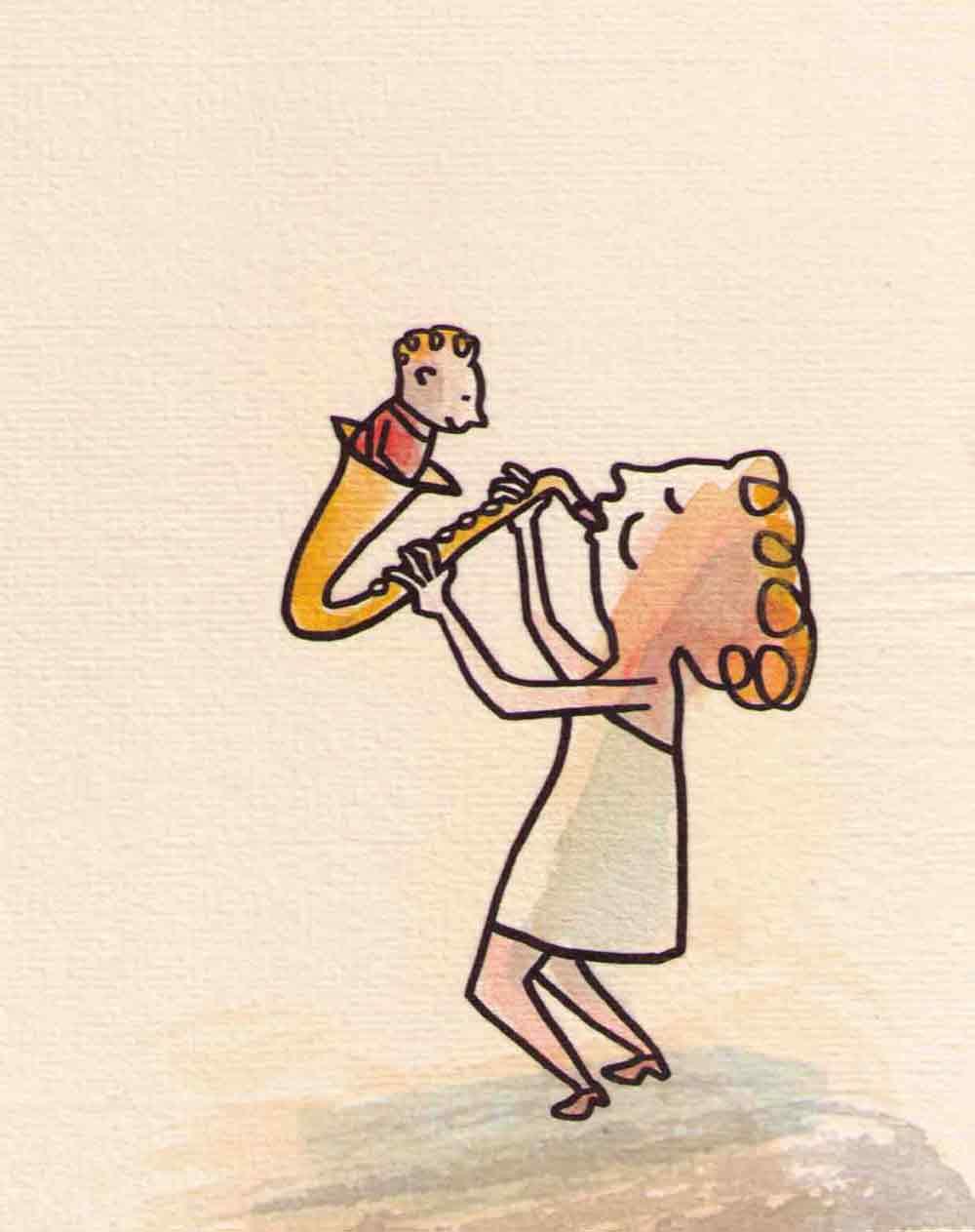 """Kapitel """"Da steckt ein Mann im Saxophon"""""""