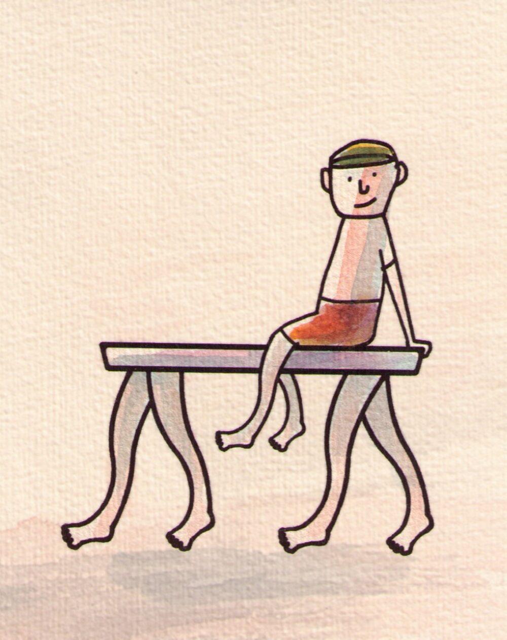 """Kapitel """"Von Tischen, Beinen und Tischbeinen"""""""